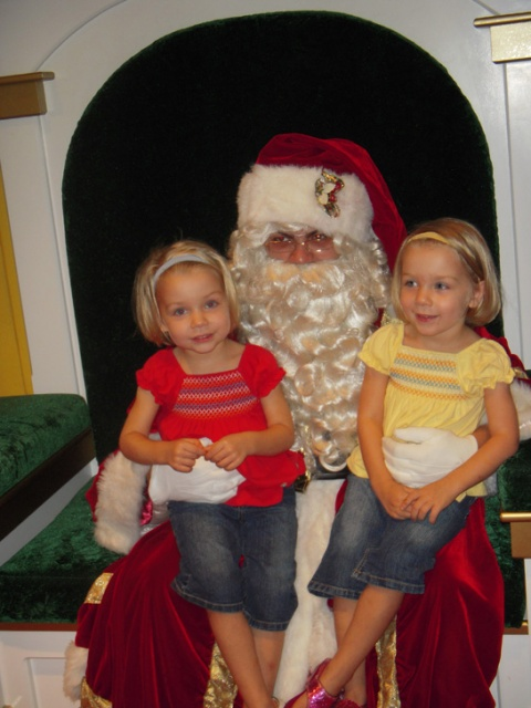 Meeting Santa